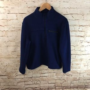 J. Crew Quarter Zip Fleece Sweater